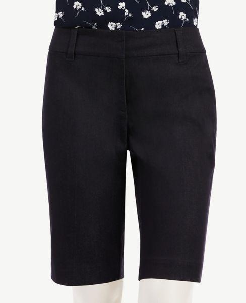 Ann Taylor Polished Denim Shorts