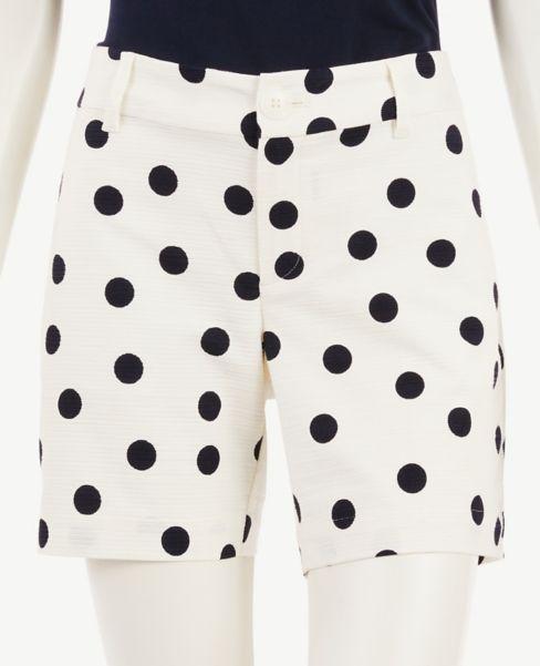 Ann Taylor Polka Dot Shorts