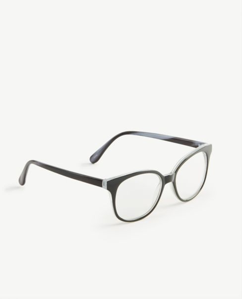 Ann Taylor Ombre Round Blue Light Reading Glasses