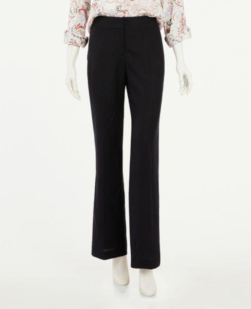 Ann Taylor Linen Blend Trouser Pants