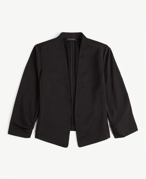 Ann Taylor Petite Cinched Sleeve Blazer