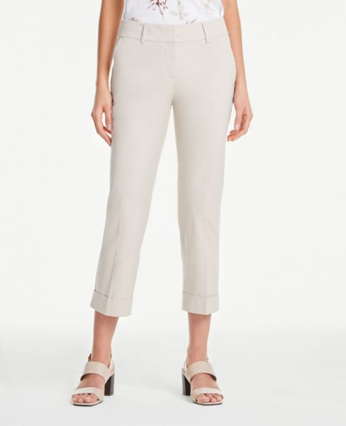 Ann Taylor Petite Crop Pants