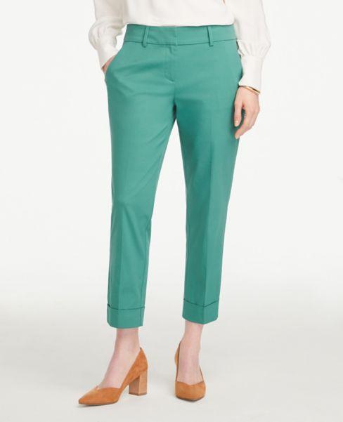 Ann Taylor Petite Curvy Crop Pants