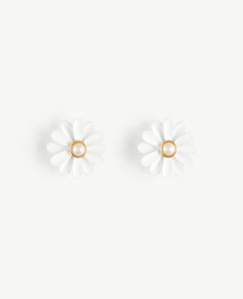 Ann Taylor Daisy Stud Earrings