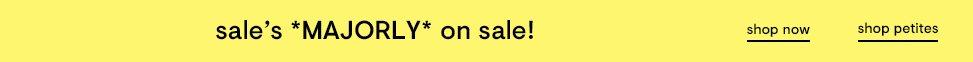 Sale's on Sale