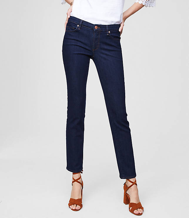 b047aa2dd8a Tall Curvy Straight Leg Jeans in Dark Rinse Wash