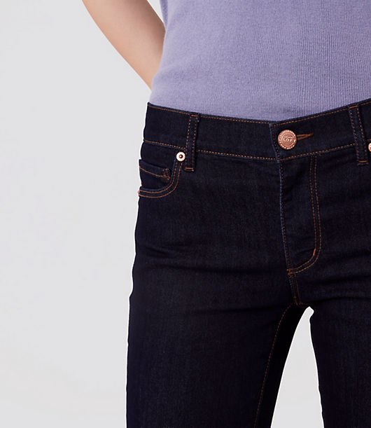 2a7fae280 Image 3 of 3 - Tall Curvy Skinny Jeans in Dark Rinse Wash