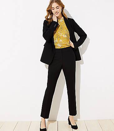 Slim Pencil Pants In Marisa Fit