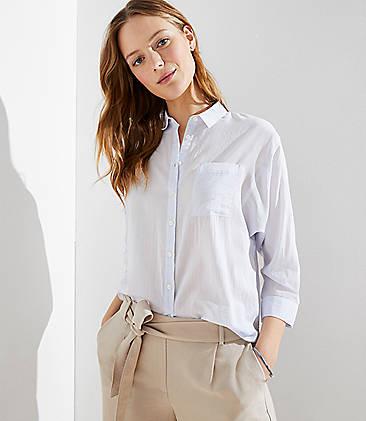 a8554765f Dolman Button Down Shirt