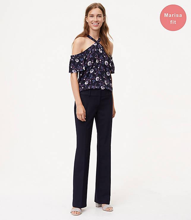 Petite Trousers in Custom Stretch in Marisa Fit