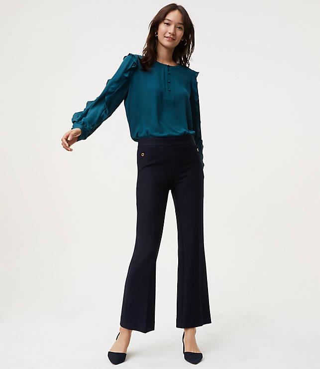 Petite Demi Bootcut Trousers