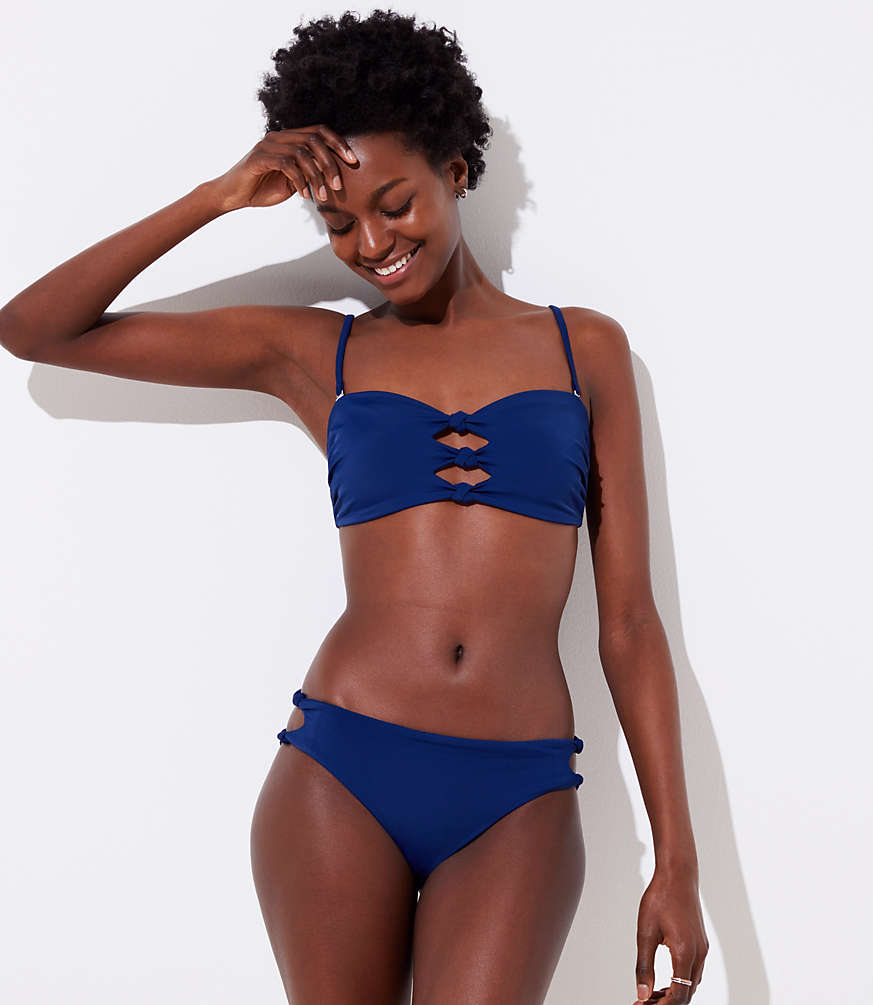 8363d67faf81f LOFT Beach Knotted Hipster Bikini Bottom | LOFT
