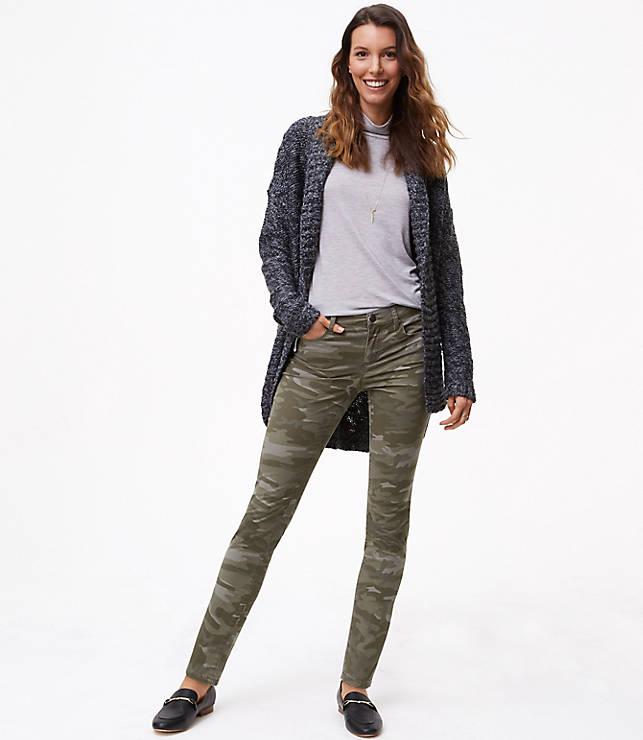 990be8c41b5bf Tall Camo Skinny Pants | LOFT