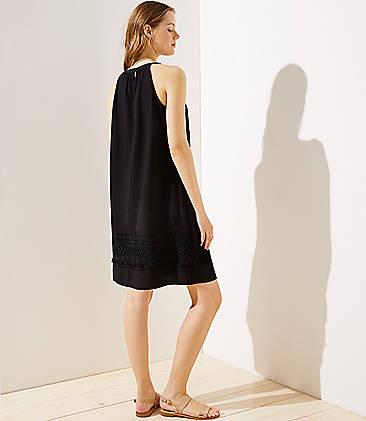 832bd2b65196 ... Tasseled Halter Swing Dress