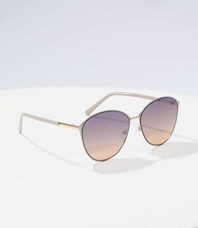 Round Cateye Sunglasses