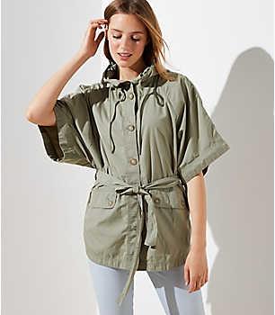 Изображение 3 из 4 - Куртка с капюшоном Poncho