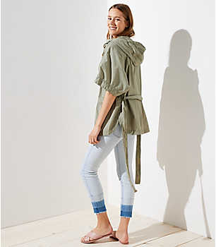 Изображение 4 из 4 - Куртка с капюшоном Poncho