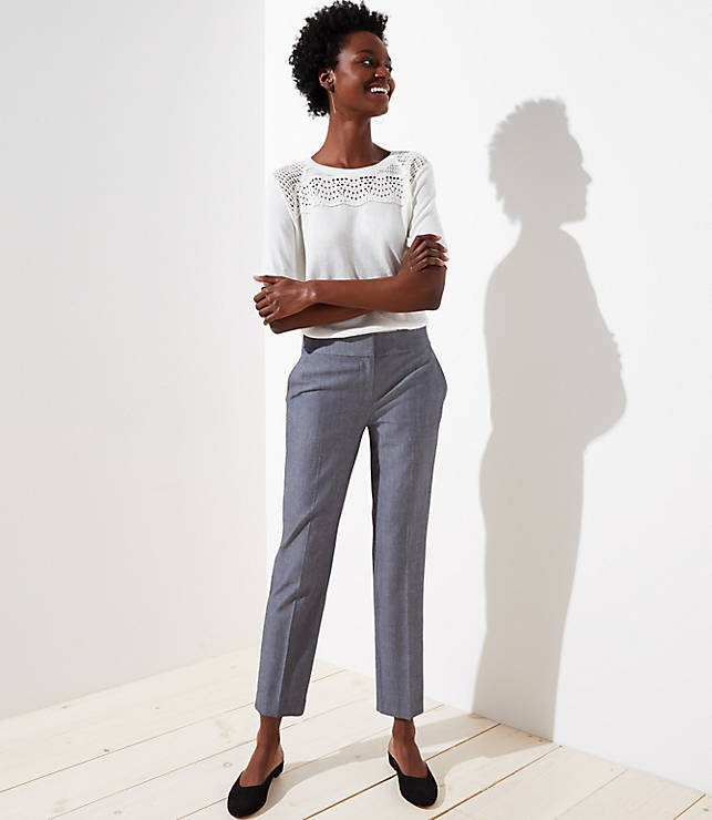 Petite Slim Ankle Pants in Marisa Fit
