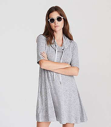 567463c057f ...  69.50 Lou   Grey Drawstring Cowl Dress