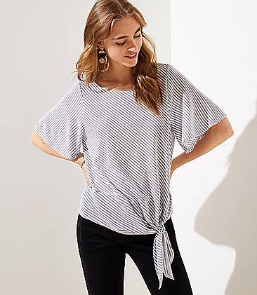 01449a1d White Petite Tops for Women | LOFT