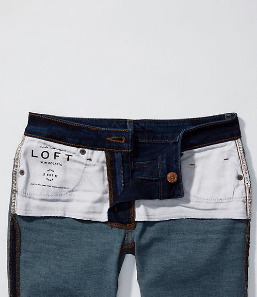 66004013 Image 4 of 4 - Curvy Slim Pocket Skinny Jeans in Staple Dark Indigo Wash