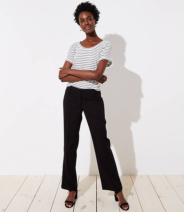 70415c6ce3a913 Tall Trousers in Twill in Marisa Fit | LOFT