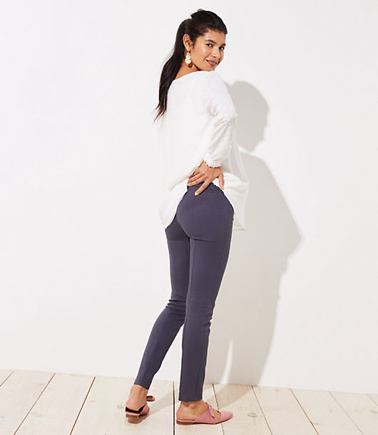 21931191c3968 Image 2 of 3 - Petite Maternity Skinny Ankle Pants