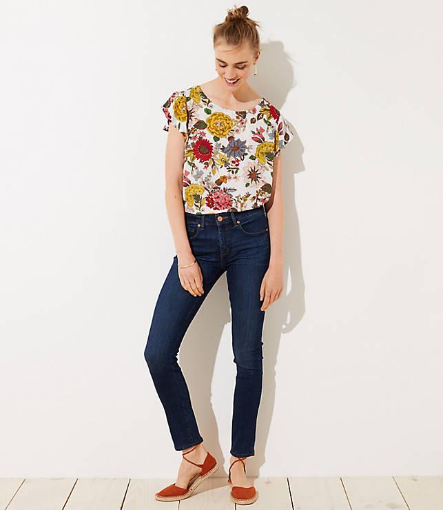 Petite Modern Slim Pocket Skinny Jeans in Staple Dark Indigo Wash