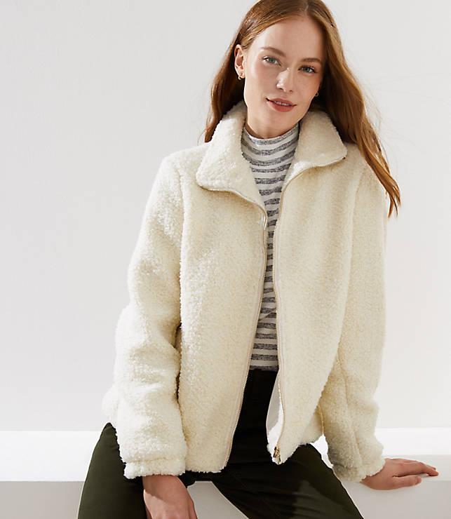 Petite Plush Jacket