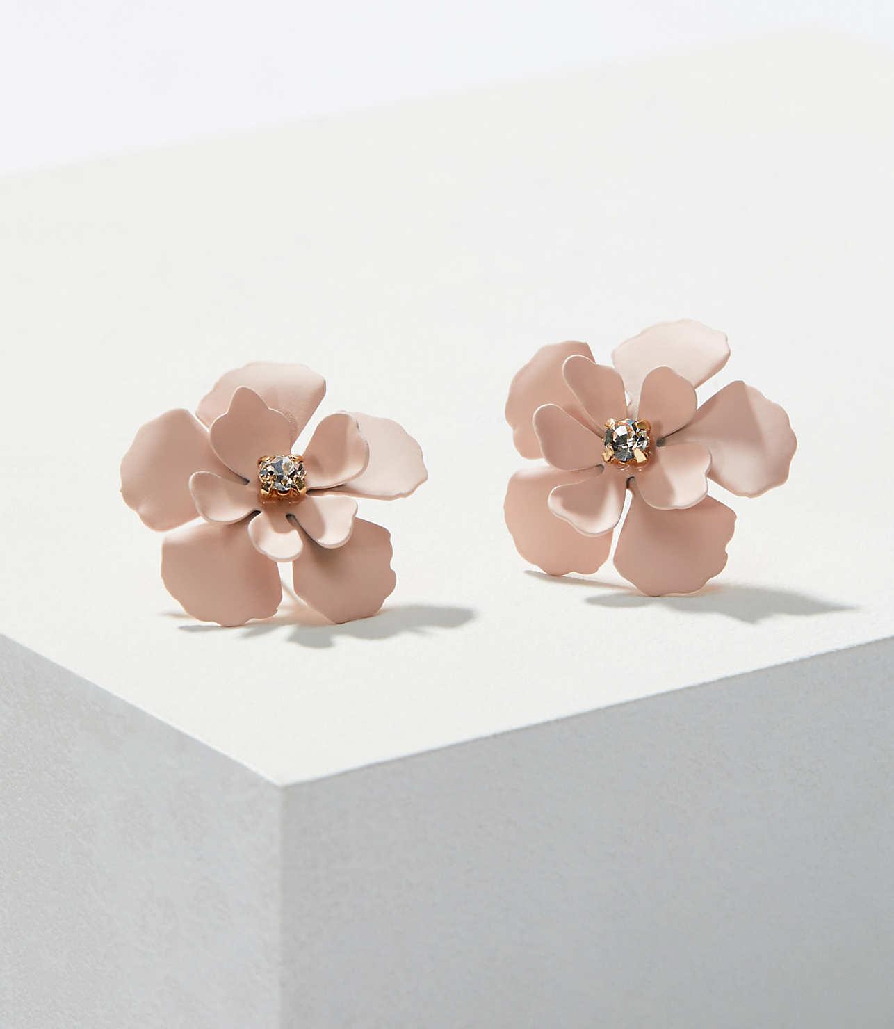 Flower Stud Earrings Loft