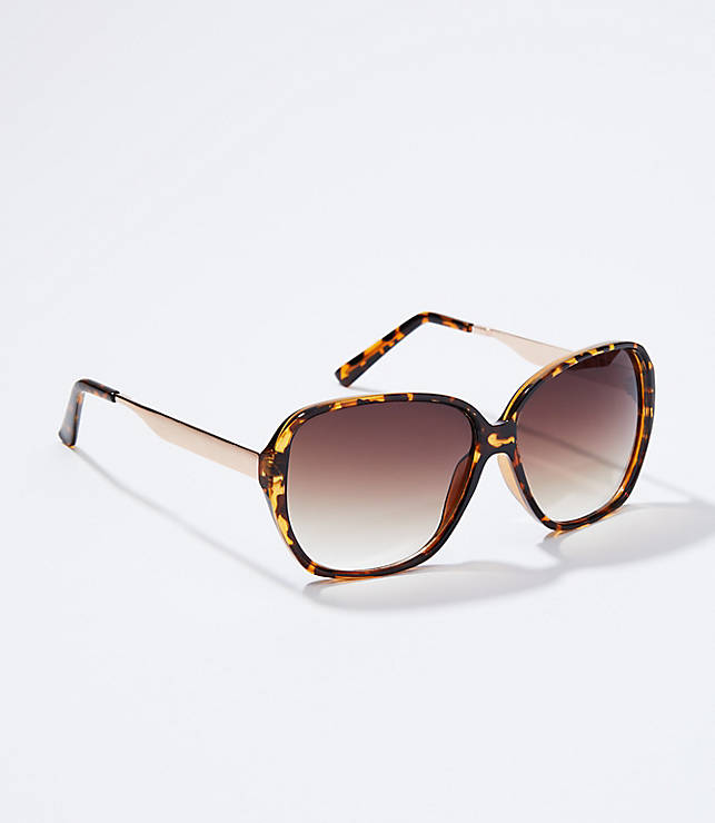 Glam Butterfly Sunglasses by Loft