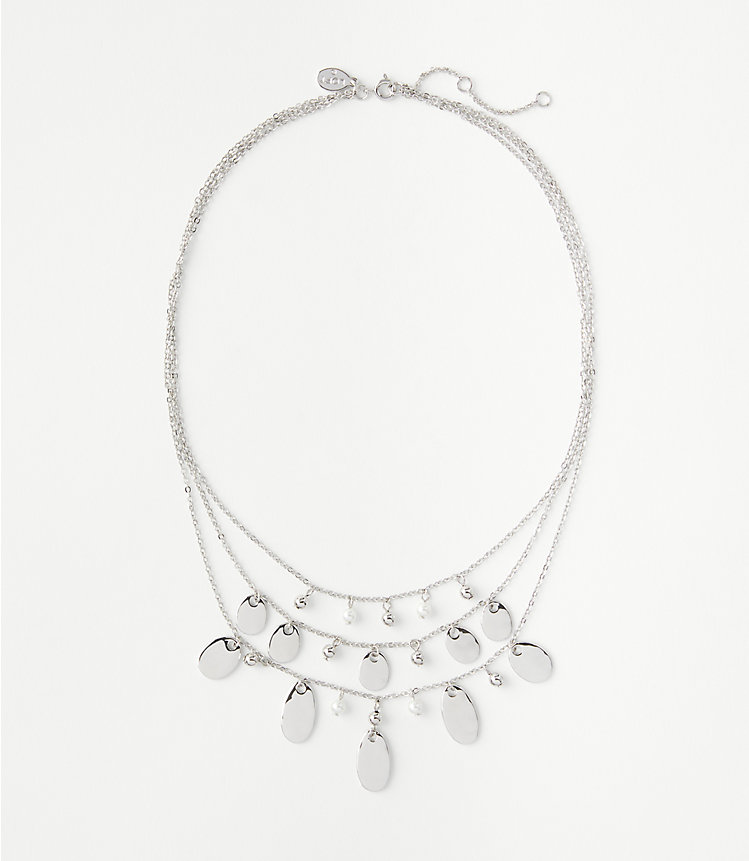 2-Pack Loft Pearlized Layered Women's Necklace
