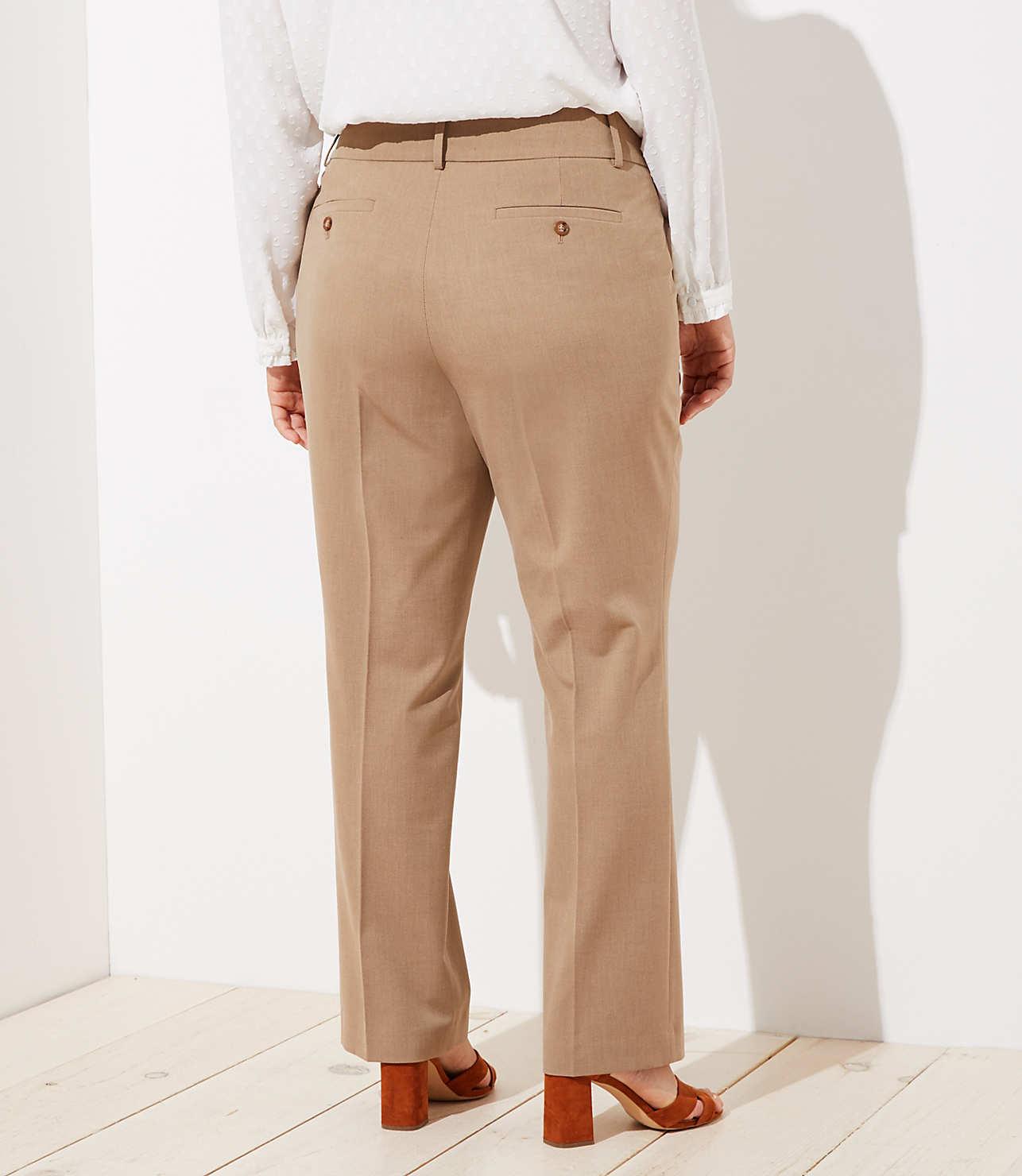 LOFT Plus Trousers in Custom Stretch in Marisa Fit | LOFT