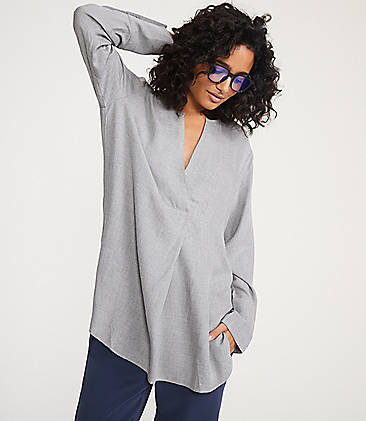 edaf3dc2b38d8 ... 69.50 Lou   Grey Cozy Pop On Tunic Shirt