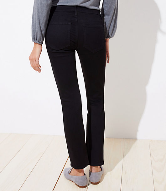 ee9b526683a20 Image 3 of 3 - Tall Curvy Straight Leg Jeans in Black