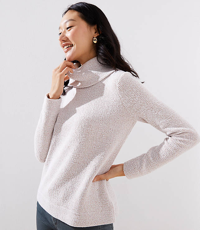 afb004458c76 Boucle Cowl Neck Top