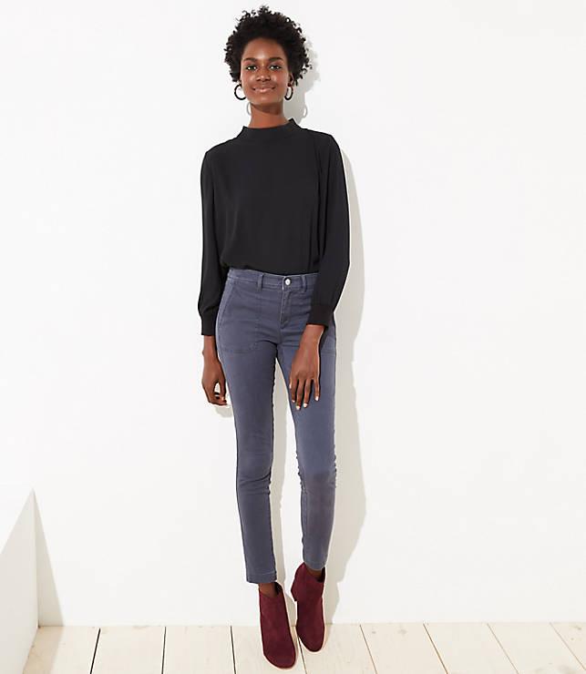Petite Skinny Utility Pants