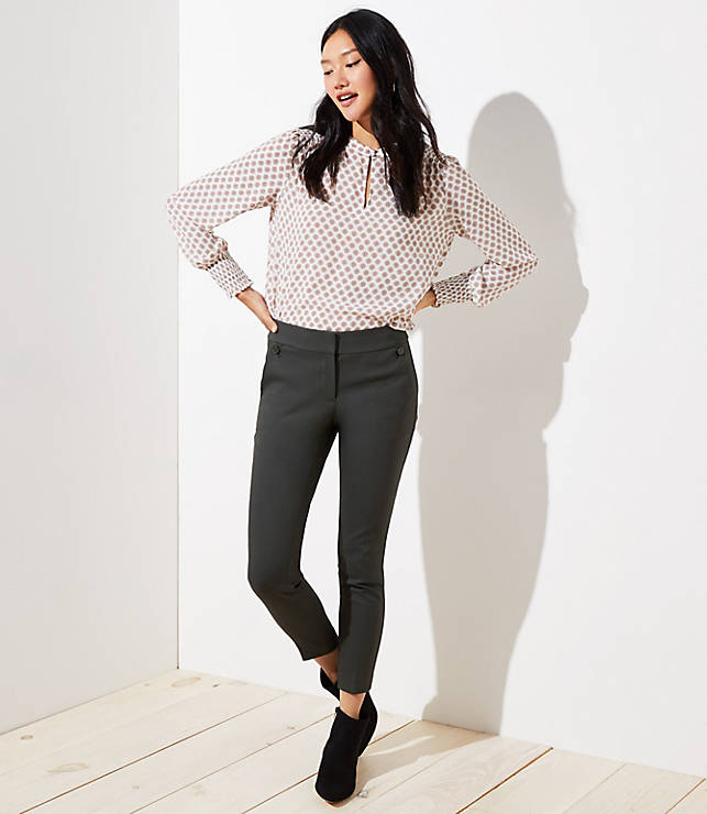 Petite Skinny Button Pocket Pants in Marisa Fit