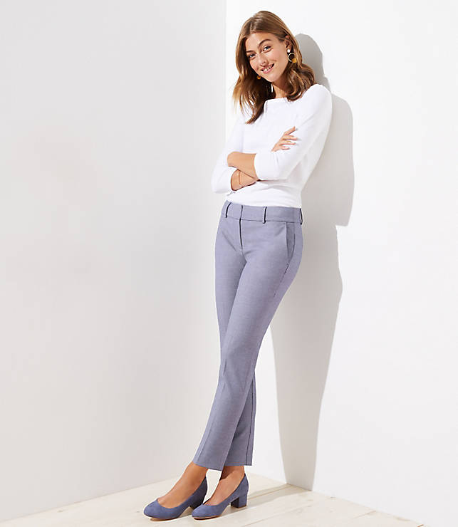 Petite Slim Pencil Pants in Custom Stretch in Marisa Fit