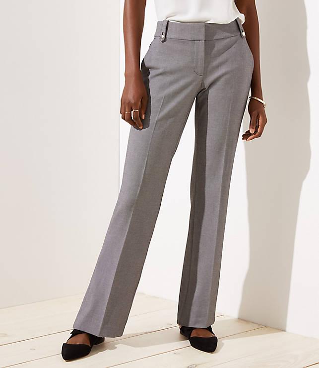 Petite Trousers in Buttoned Belt Loop in Julie Fit