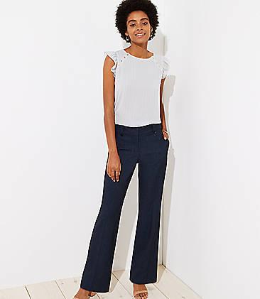 Tall Trousers In Tweed Marisa Fit