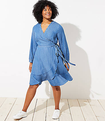 Shirtdress Plus Size Dresses for Women | LOFT