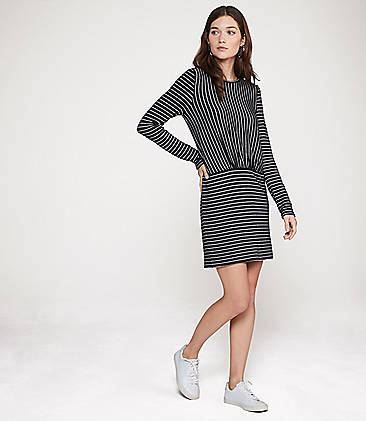 c75188ddb0b ...  69.50 Lou   Grey Brushstripe Dress
