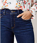 f2bc2018c07 Image 2 of 3 - Curvy Soft Skinny Jeans in Luxe Dark Wash