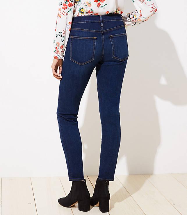 dfa28bb99b5 Curvy Soft Skinny Jeans in Luxe Dark Wash