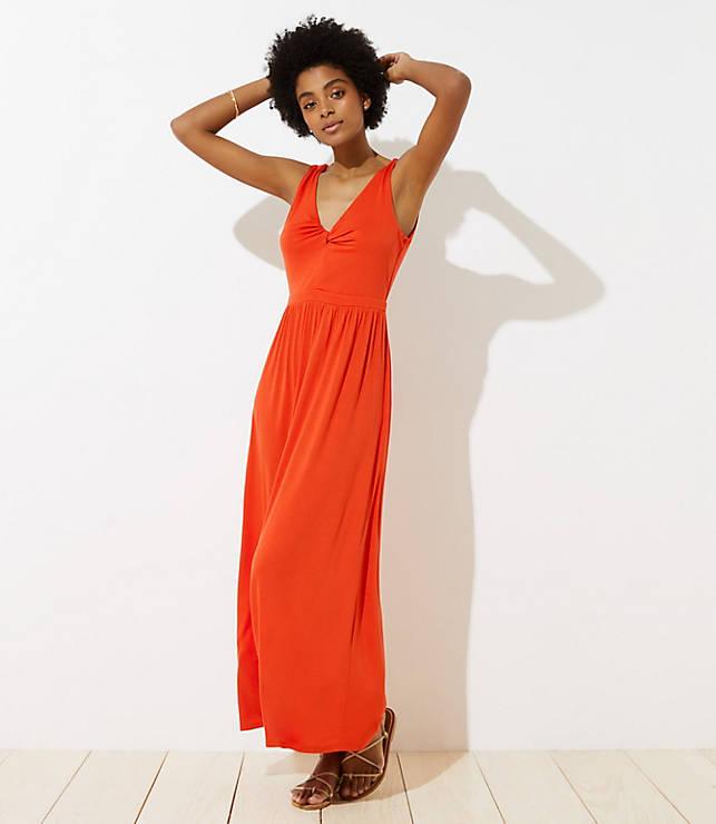 9ae0f15b002 LOFT Beach Twist Maxi Dress