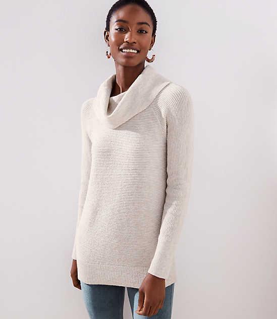 f71415664d24e Cowl Neck Tunic Sweater