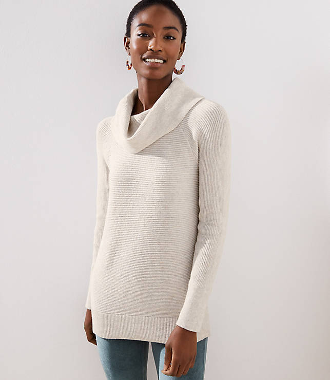 085d1ac885 Cowl Neck Tunic Sweater