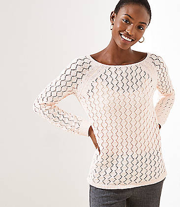 3a8c8f192c Diamond Open Knit Sweater