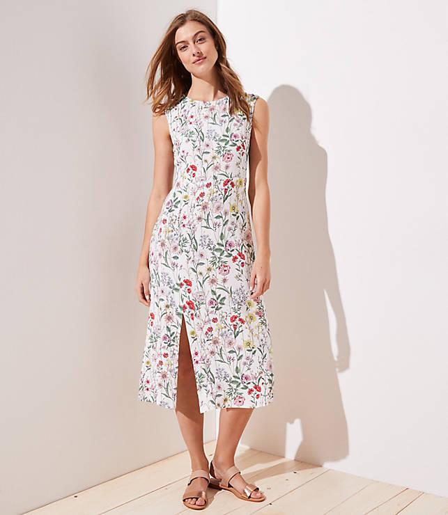 Floral Cap Sleeve Dresses